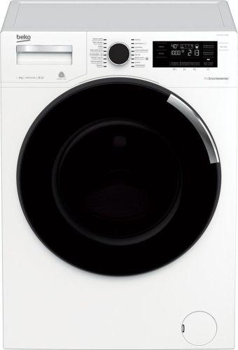 BEKO WTV8744CSXW0, bílá pračka plněná zepředu