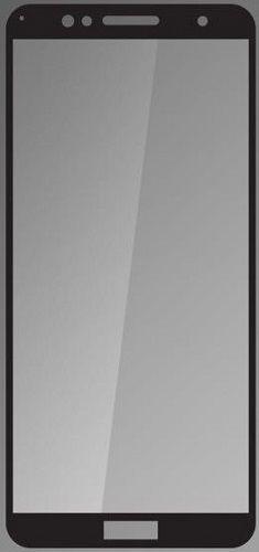 QSKLO 2,5D ochranní sklo pro Honor 7A, černá
