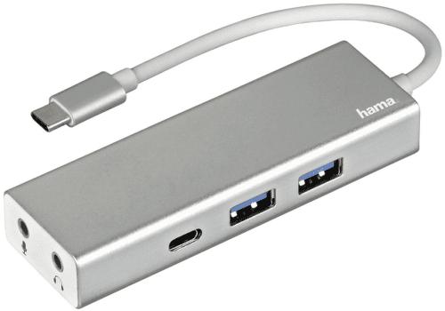 HAMA USB-C / 2x USB-A / 2x audio jack 135758