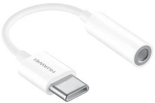 Huawei CM20 redukce USB-C na 3,5 mm jack, bílá