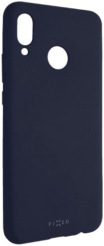 Fixed Story silikonový zadní kryt pro Huawei Nova 3, modrá