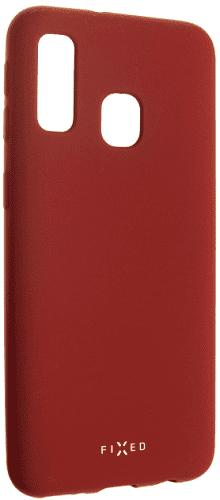 Fixed Story silikonový zadní kryt pro Samsung Galaxy A40, červená