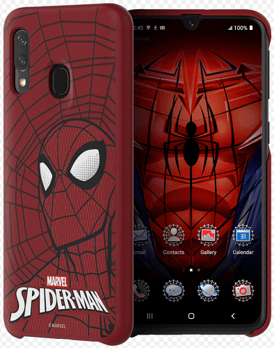 Samsung Marvel pouzdro pro Samsung Galaxy A40, Spider-Man