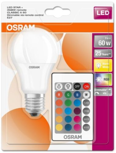 OSRAM LED 60 dim RC 9W/8