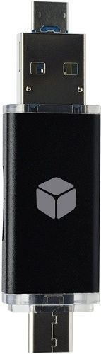 Sturdo USB-C 3v1 čtečka karet Micro SD, černá