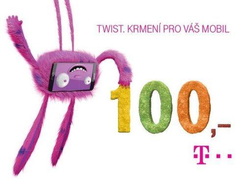 T-MOBILE TWIST 100 Kč kupón