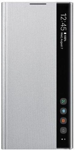 Samsung Clear View pouzdro pro Samsung Galaxy Note10+, stříbrná