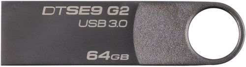 Kingston DataTraveler SE9 G2 Premium 64GB šedý