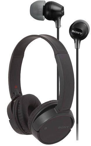 Sony WH-CH500B + MDREX110APB