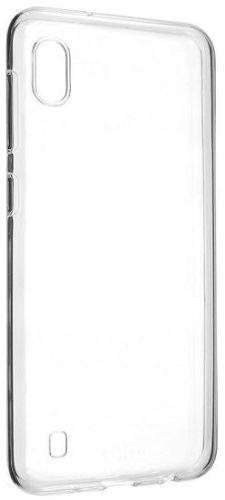 Fixed Skin TPU gelové pouzdro pro Samsung Galaxy A10, transparentní