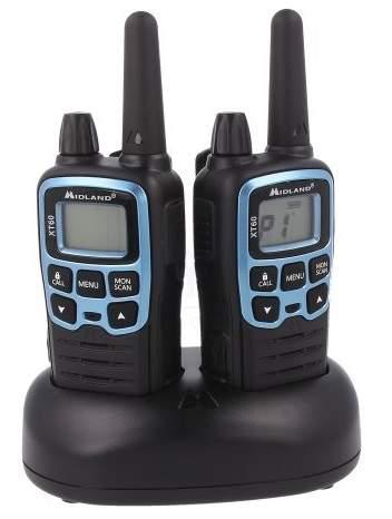 Midland XR60 vysílačka, modro černá