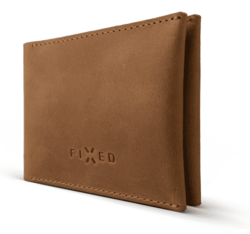 Fixed Smile peněženka s motion senzorem, hnědá