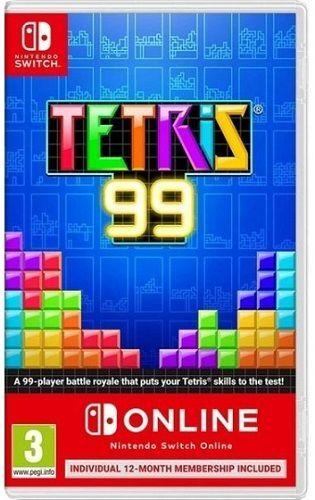 Tetris 99 + NSO - Nintendo Switch hra