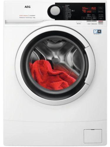 AEG L6SE26WC, bílá slim pračka plněná zepředu