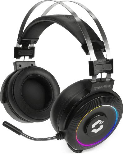 Speedlink ORIOS RGB 7.1 SL-860005-BK černý
