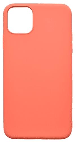 Mobilnet Soft silikonové pouzdro pro Apple iPhone 11 Pro Max, korálová