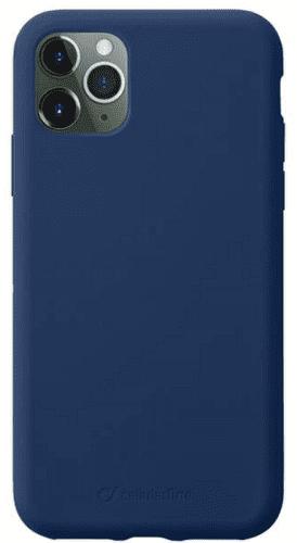 CellularLine Sensation silikonové pouzdro pro Apple iPhone 11 Pro, modrá