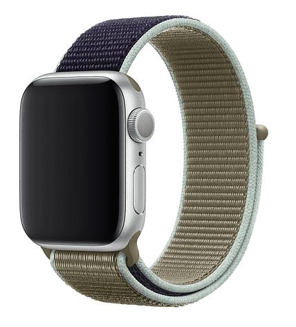 Apple Watch 40 mm sportovní provlékací řemínek, khaki