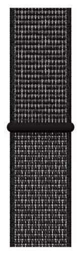 Apple Watch 40 mm Nike sportovní provlékací řemínek, černý