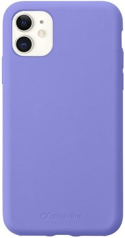 CellularLine Sensation silikonové pouzdro pro Apple iPhone 11, fialová