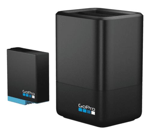 GoPro duální nabíječka + náhradní baterie pro GoPro HERO8/7/6 Black