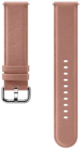Samsung kožený řemínek pro Samsung Galaxy Watch Active2 růžový