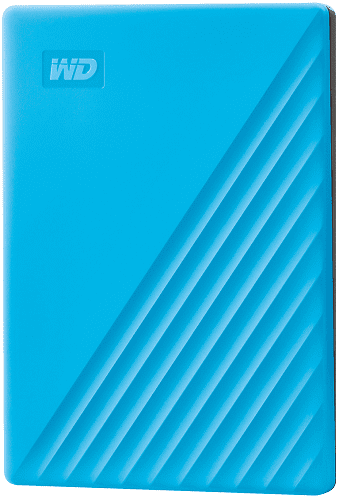 "WD My Passport 2,5"" 2TB USB 3.2 modrý"