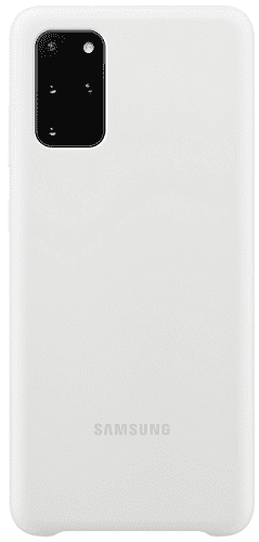 Samsung Silicone Cover pro Samsung Galaxy S20+, bílá
