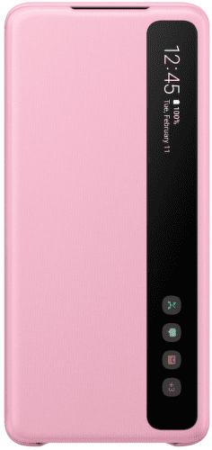 Samsung Clear View Cover pouzdro pro Samsung Galaxy S20+, růžová