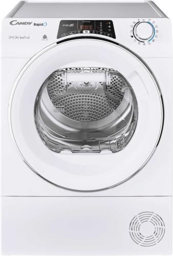 CANDY RO H8A2TCEX-S, smart sušička prádla