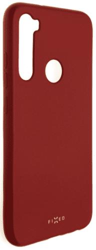 Fixed Story pogumované pouzdro pro Xiaomi Redmi Note 8, červená