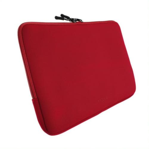 FIXED Sleeve obal na 15,6'' tablet červený
