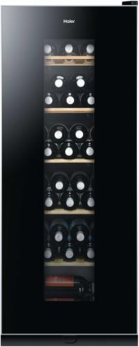 HAIER WS59GAE, černá vinotéka
