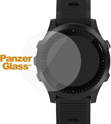 PanzerGlass Flat tvrzené sklo pro SmartWatch 36 mm, Garmin Fenix 5S Plus/Vivoactive 3/Fenix 6S Pro/Fenix 6 Pro, Huawei Watch GT, transparentní