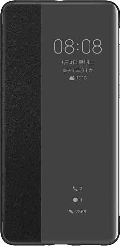 Huawei Smart View flipové pouzdro pro Huawei P40, černá