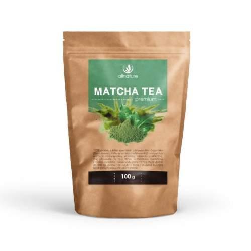 Allnature matcha tea premium 100 g doplnok stravy