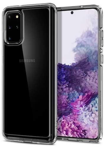 Spigen Ultra Hybrid pouzdro pro Samsung Galaxy S20+, transparentní