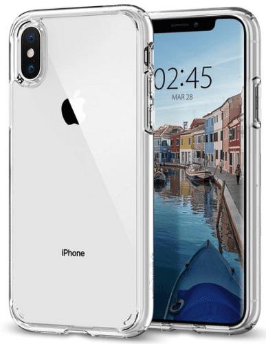 Spigen Ultra Hybrid pouzdro pro Apple iPhone X/Xs, transparentní