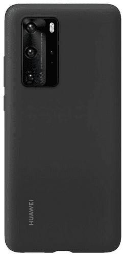 Huawei silikonové pouzdro pro Huawei P40 Pro, černá