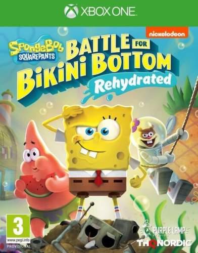 SpongeBob SquarePants: Battle for Bikini Bottom (Rehydrated) - Xbox One hra
