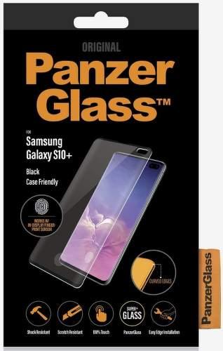 PanzerGlass Case Friendly tvrzené sklo pro Samsung Galaxy S10+, černá
