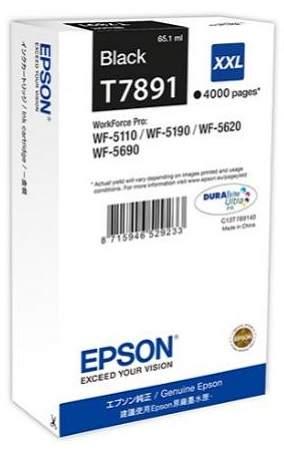 Epson T7891 XXL Black