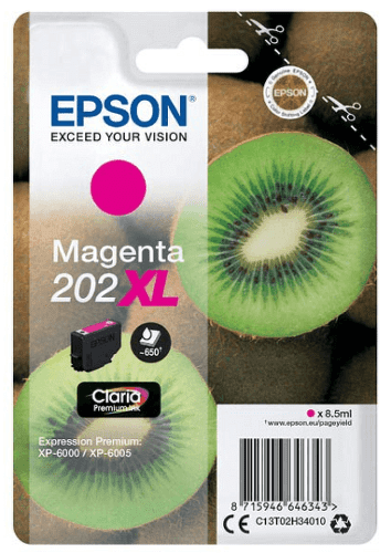 Epson 202 XL purpurová