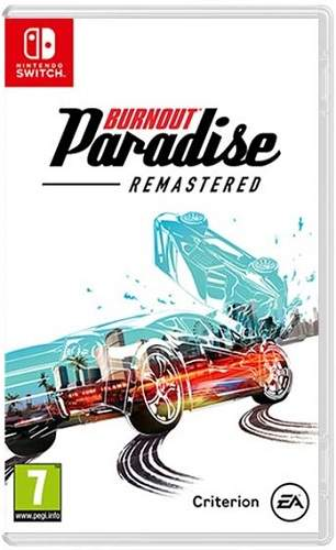 Burnout Paradise Remastered - Nintendo Switch hra