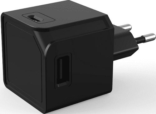 USBcube Original A+C 3A, černá