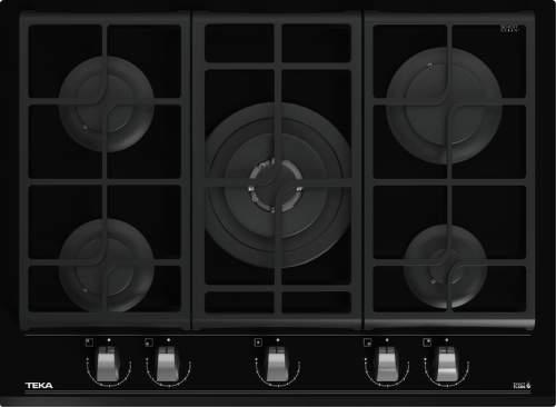 TEKA GZC 75330 XBN, černá plynová varná deska