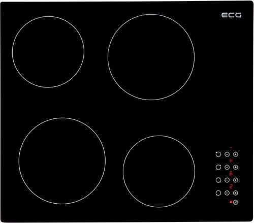 ECG EHC 6006, černá sklokeramická varná deska