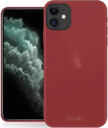 Fonex Gommy pouzdro pro Apple iPhone 11, červená