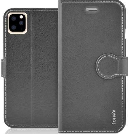 Fonex Identity flipové pouzdro pro Apple iPhone 11 Pro, černá