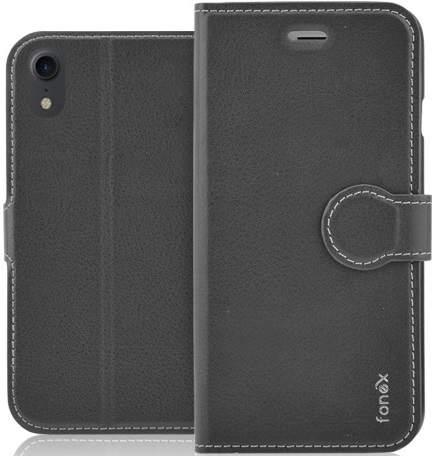Fonex Identity flipové pouzdro pro Apple iPhone Xr, černá